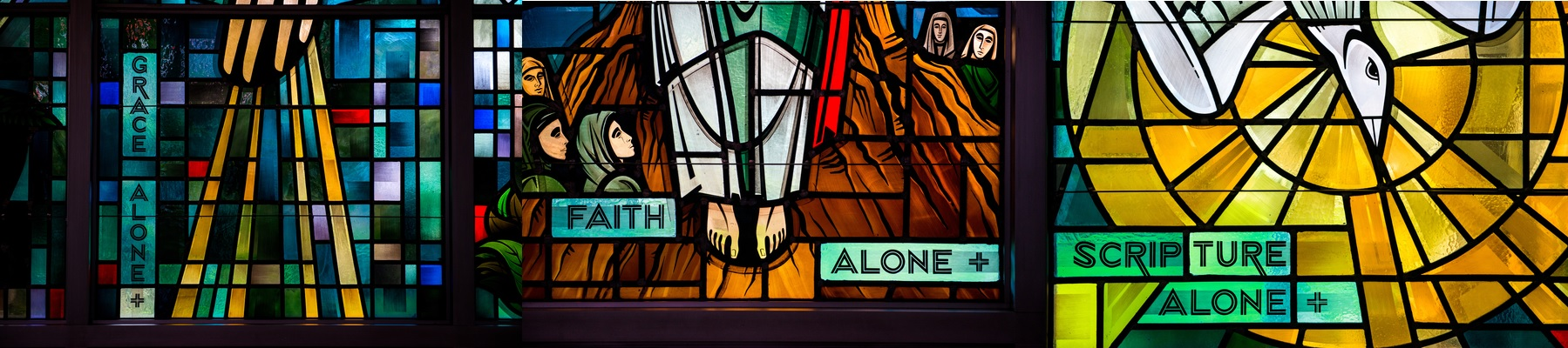Lutheran Christian beliefs, Grace Alone, Faith Alone, Scripture Alone